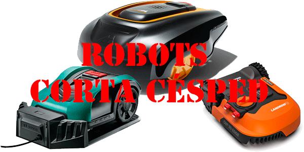 Robots cortacesped inteligentes